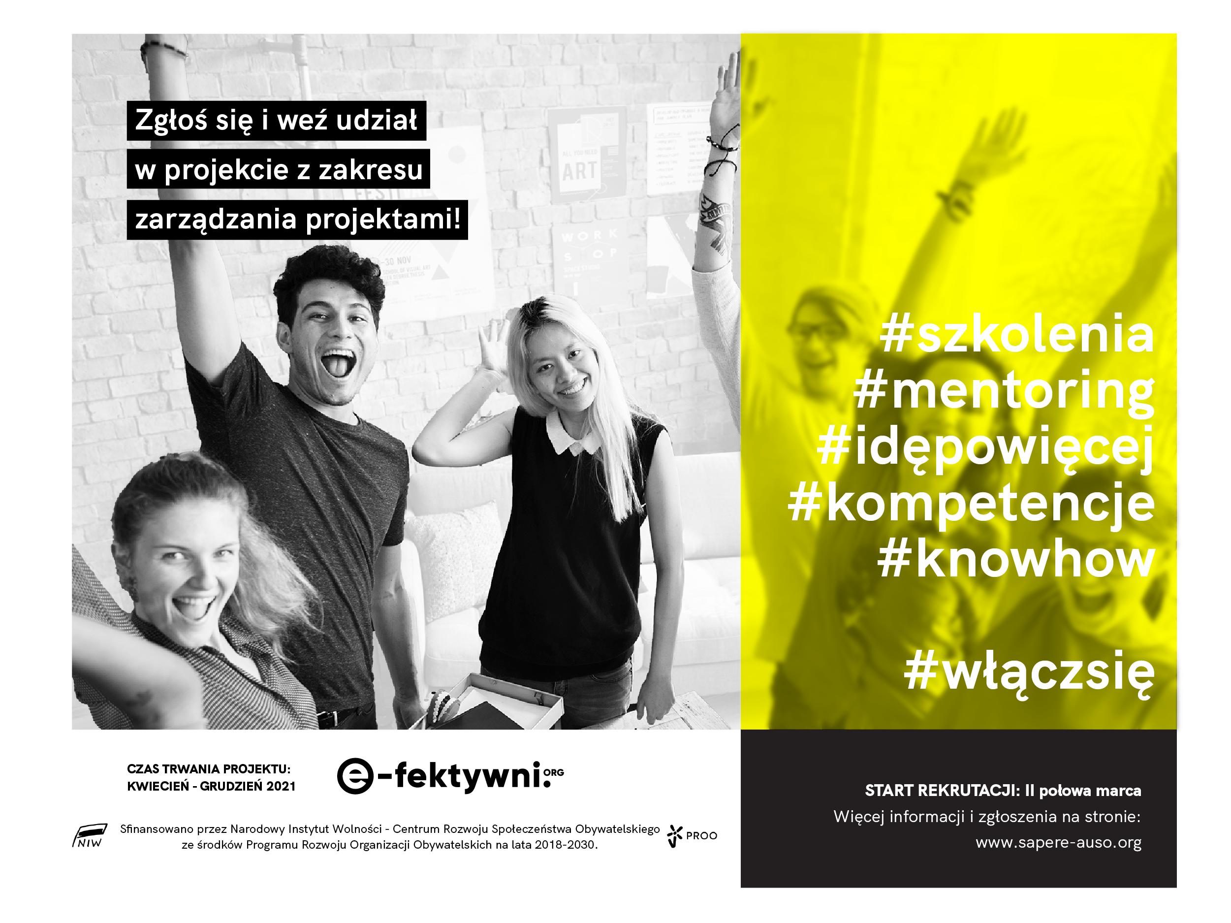 e-fektywni.org – startujemy!